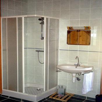 Gite de La Grange - Le Grand Gite - La douche chambre indienne - Gite de France